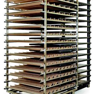 Ugnskåpa med aluminiumhällar för Bageri och konditori | Panea
