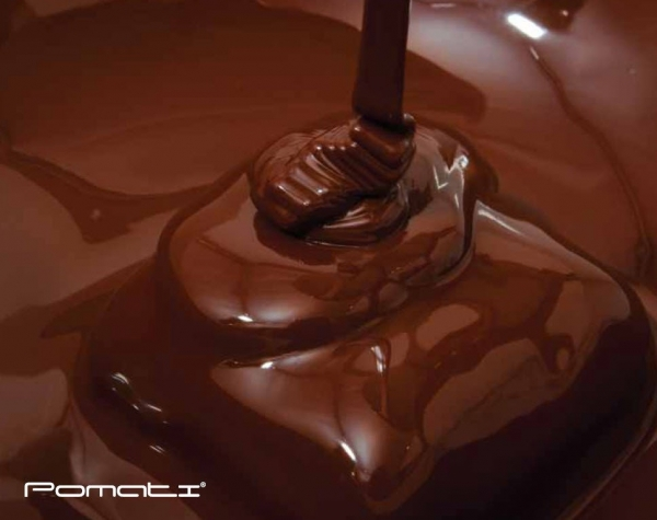 choklad bagerimaskiner från Pomati  Panea