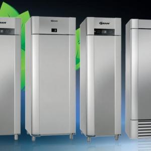 låg-energikylskåp för industriella bageriprodukter av Gram | Panea