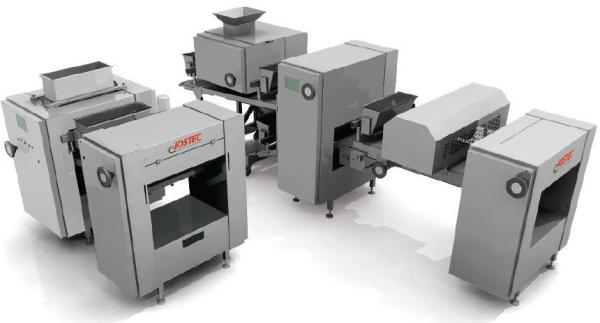 Jostecs bagerimaskiner för att göra deg  Panea